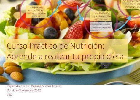 Aprende a realizar tu propia dieta